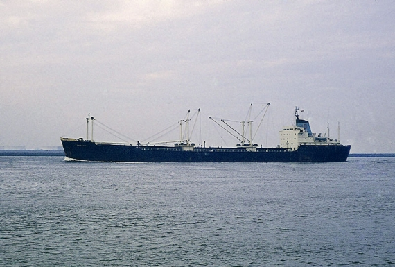MV Tamworth courtesy of Derek Sands